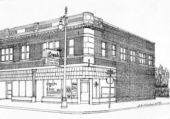 Warren Avenue Dinette: Drawing