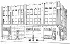 Mack Avenue Professional Building: Drawing